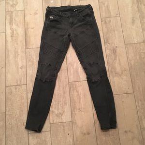 GSTAR RAW women's moto jeans